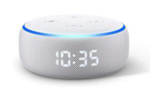 L'Amazon Echo Dot avec horloge intégrée a rarement été aussi abordable