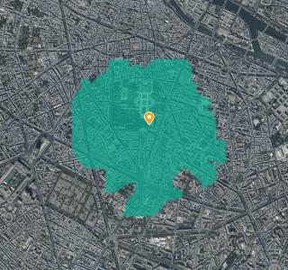 Confinement : comment calculer le périmètre de 1 km autour de chez soi