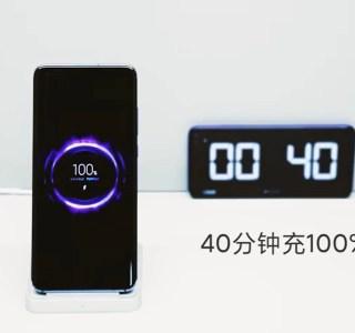 Xiaomi montre une nouvelle recharge sans fil très rapide