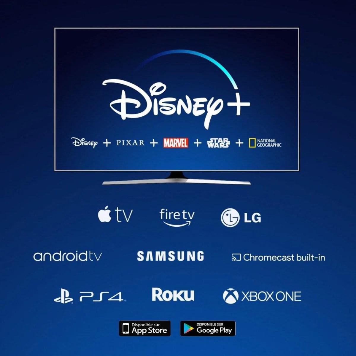 Disney+ : voici les plateformes compatibles avec le service de streaming