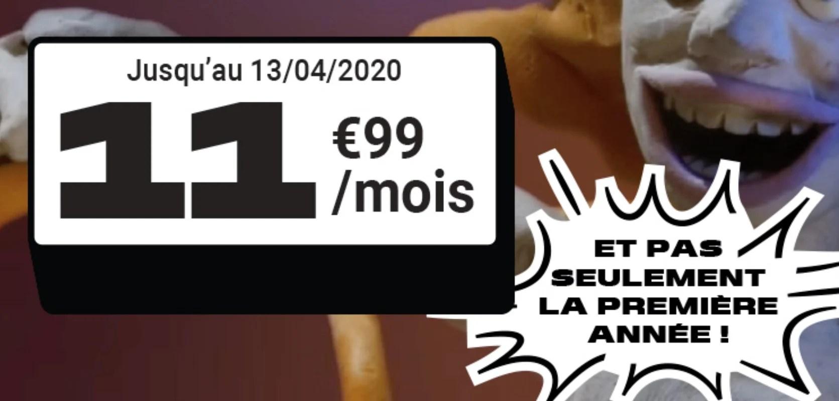 Voici l'un des meilleurs forfaits 4G : 50 Go à 11,99 euros, même après un an