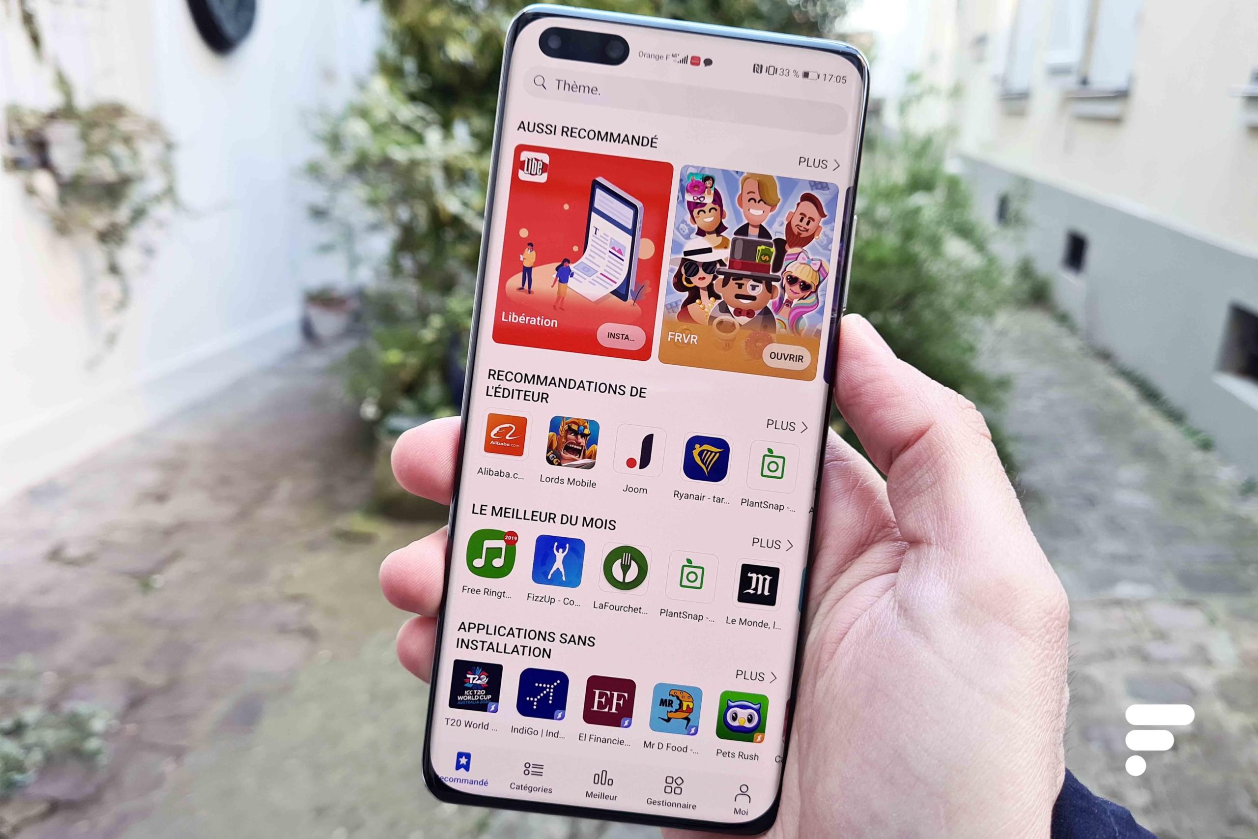 Huawei a un nouveau plan : avoir les apps de Google sur l'App Gallery