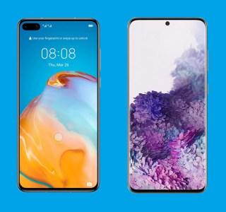 Huawei P40 vs Samsung Galaxy S20 : quel est le meilleur smartphone petit format ?