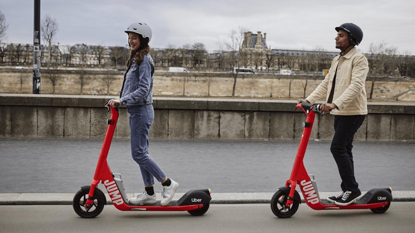 JUMP (Uber) et Cityscoot: un nouveau partenariat de mobilité urbaine pour dominer Paris