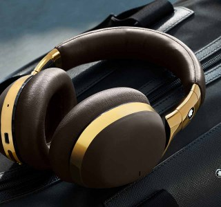 MontBlanc MB01 : le premier casque Bluetooth de la marque coûte 600 euros