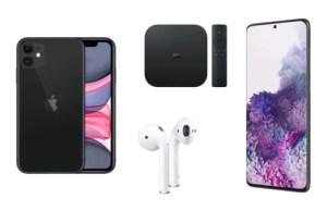 La sélection tech à prix cassé : Galaxy S20+, iPhone 11, AirPods 2, etc.