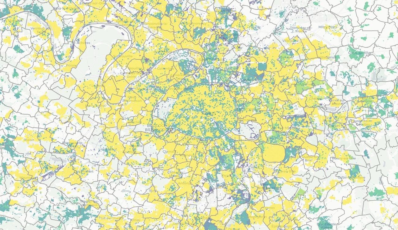 Découvrez quel opérateur propose le meilleur débit chez vous grâce à cette carte