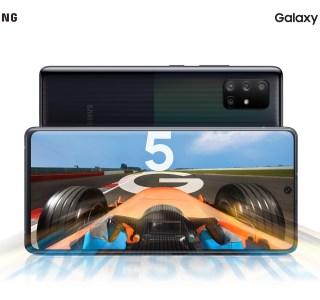 Samsung officialise les Galaxy A51 5G et A71 5G : une plus grosse batterie et… de la 5G