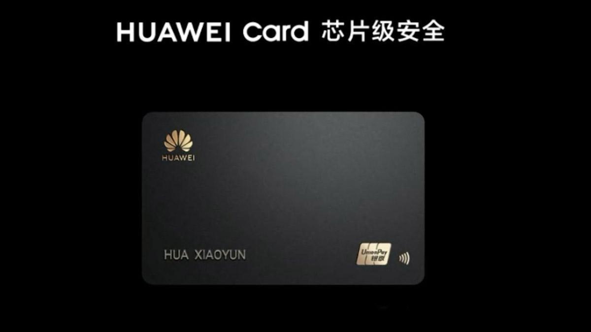 Huawei fait comme Apple et lance sa propre carte bancaire