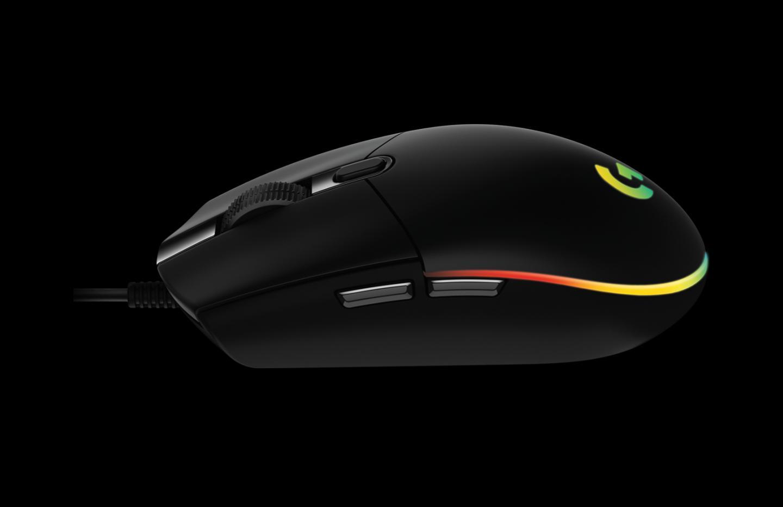 Logitech G203 Lightsync : la souris filaire G203 Prodigy passe au RGB personnalisable pour 40 euros