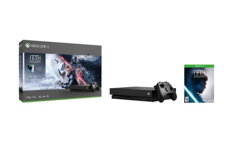 Le pack Xbox One X avec Star Wars Jedi: Fallen Order à moitié prix
