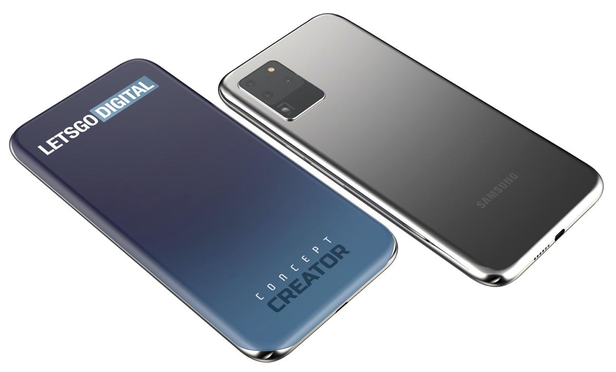 Samsung : ce concept de smartphone sans encoche ni poinçon donne très envie