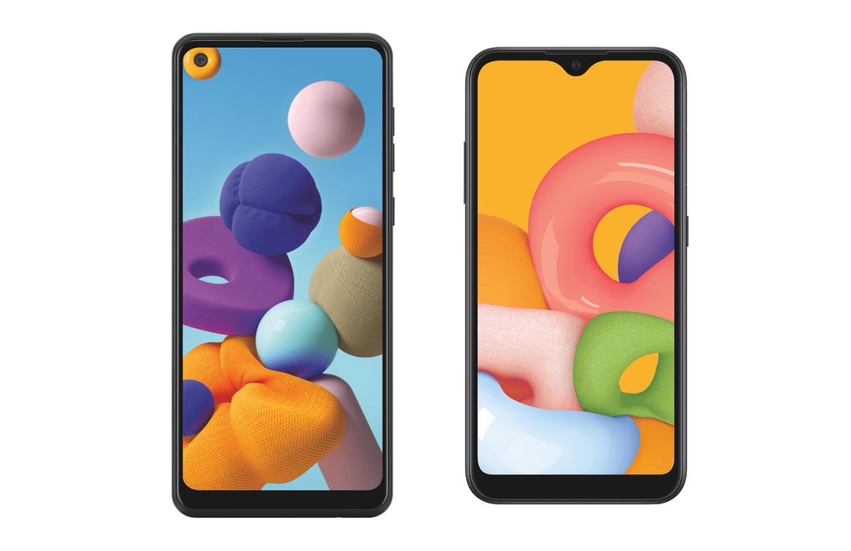 Samsung Galaxy A01 et Galaxy A21 : après le Galaxy A11, la gamme continue de s'élargir