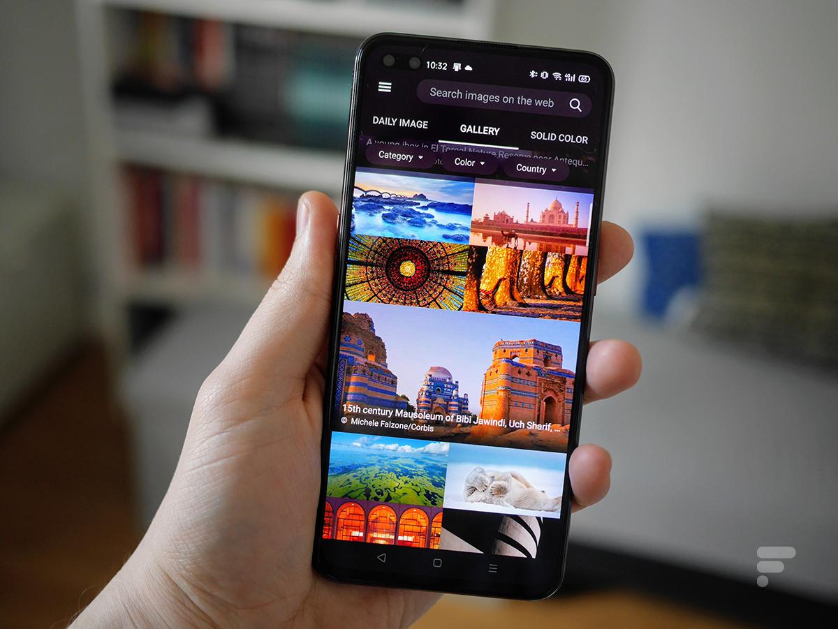 Microsoft met à disposition des milliers de fonds d'écran tirés de Bing pour votre smartphone