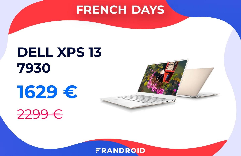 Une remise inédite de 670 € pour l'excellent Dell XPS 13 (i7 + SSD 1 To)