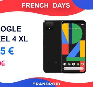 585 euros au lieu de 899 : voici la meilleure offre pour le Google Pixel 4 XL