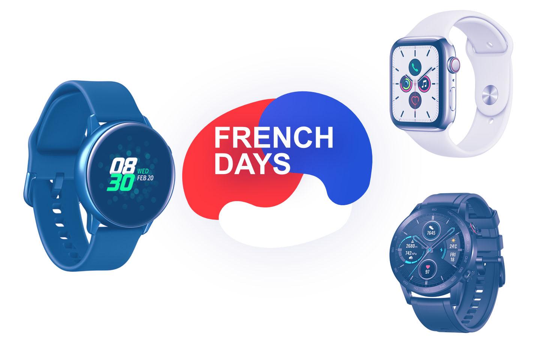 French Days : les meilleures offres pour les montres connectées