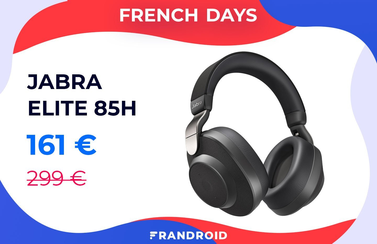 Jabra Elite 85h : un casque à réduction de bruit ENFIN abordable lors des French Days