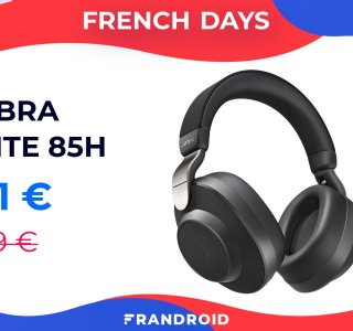 Jabra Elite 85h : un casque à réduction de bruit ENFIN abordable lors des French Days