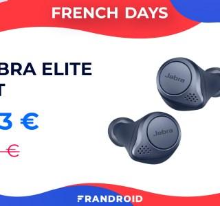 Jabra Elite 75T : ces écouteurs sans fil sont en forte promotion pour les French Days