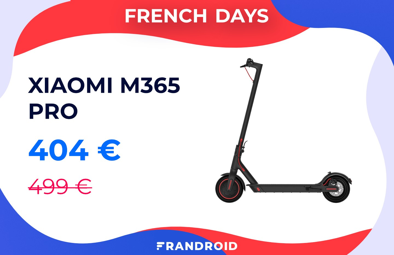 La populaire Xiaomi M365 Pro avec 100 € de réduction pour les French Days