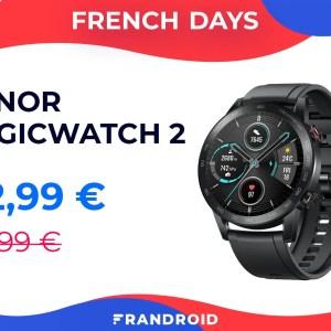 Honor MagicWatch 2 : le clone abordable de la Huawei Watch GT 2 avec 50 € de remise