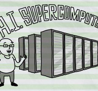 Microsoft dévoile son superordinateur: 285 000 coeurs, 10 000 GPU et 400 Gbit/s