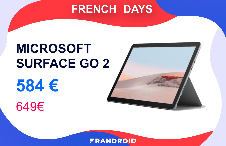 La nouvelle Microsoft Surface Go 2 est déjà en promotion pour les French Days