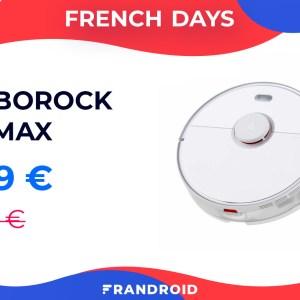 Fini les corvées, le Roborock S5 Max passe sous la barre des 400 euros durant les French Days
