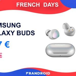 Les Samsung Galaxy Buds tombent aux alentours de 100 € pour les French Days