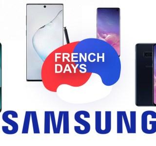 Les smartphones Samsung profitent des French Days pour s'afficher à petit prix