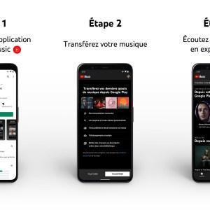 Transférer vos morceaux de Google Play Musique à YouTube Music devient enfin possible