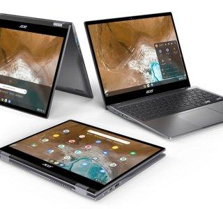 Acer Spin 713 : le nouveau Chromebook haut de gamme, développé avec Intel