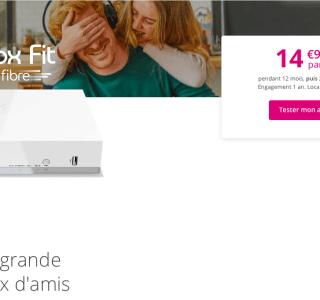 La Fibre Bouygues Telecom est à moins de 15 €/mois via l'offre Bbox Fit
