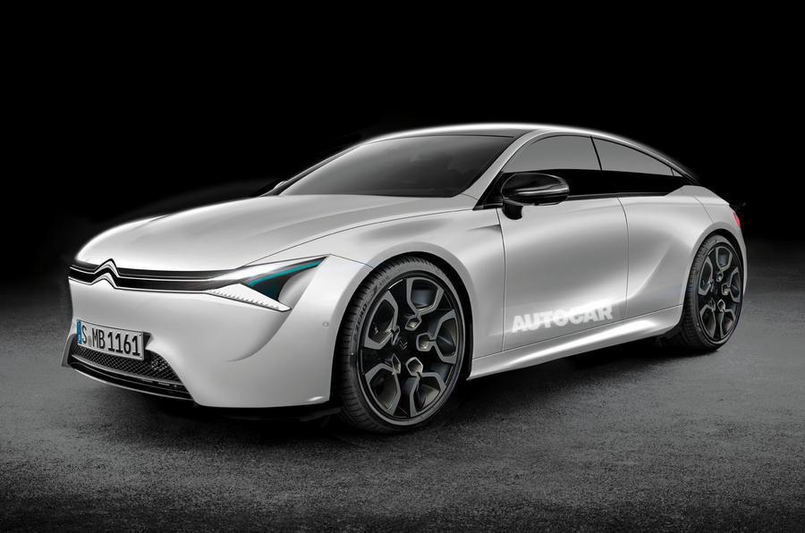 Citroën veut jouer dans la cour des grands avec une berline hybride premium et tout confort