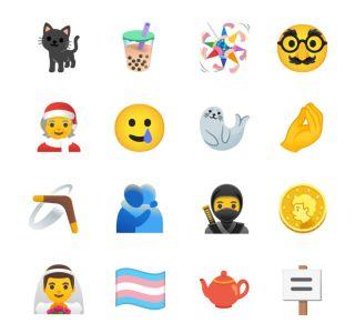 Android 11 : mère Noël, accordéon, ours polaire… 117 nouveaux émojis pour l'OS