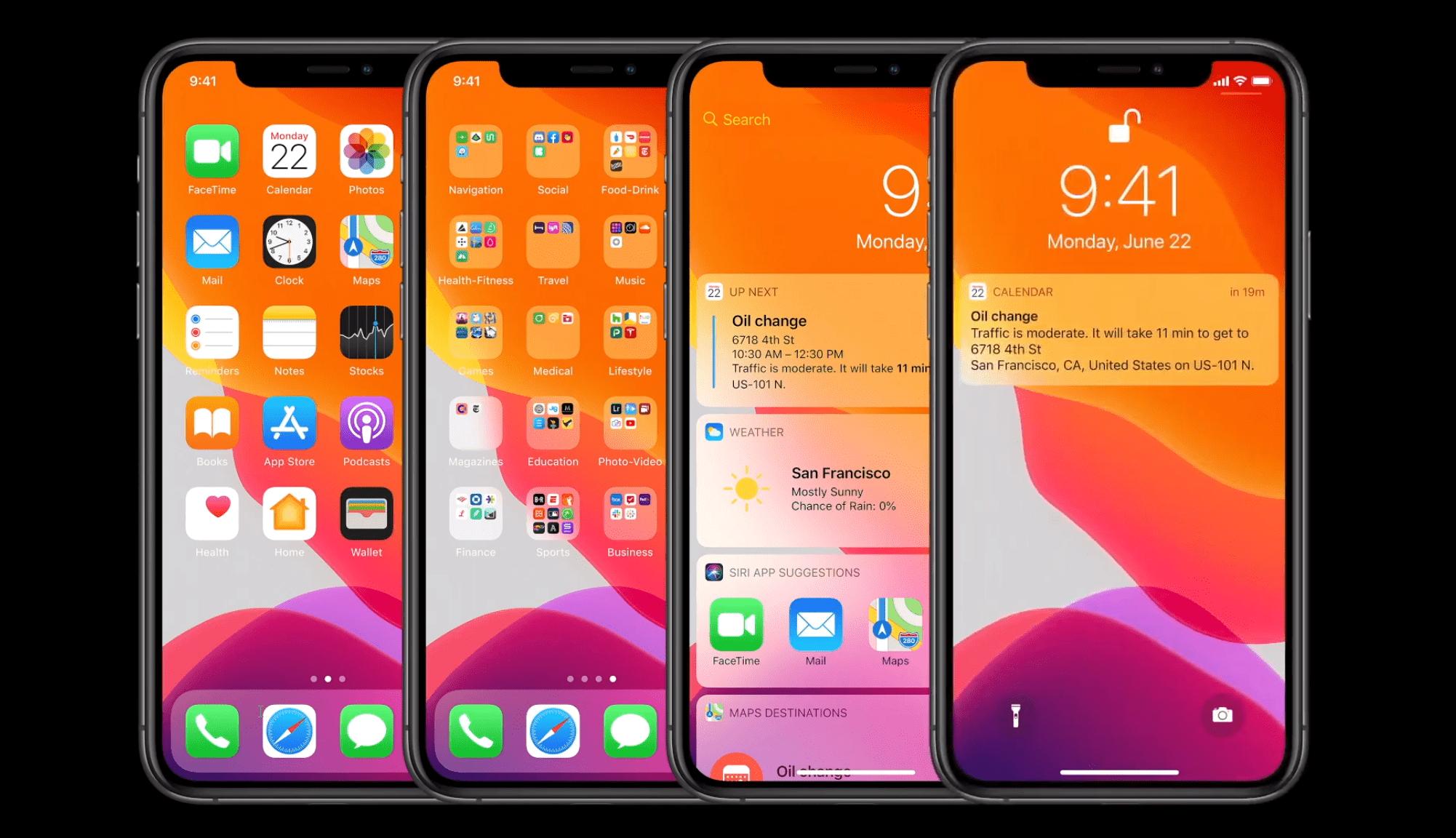 iOS14 renforce l'accessibilité: tape au dos de l'iPhone, détection des bruits, accent sur la visibilité
