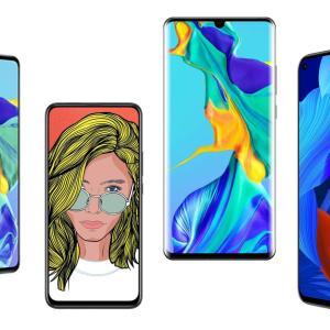 Amazon déstocke 4 smartphones Huawei, dont les excellents P30 et P30 Pro