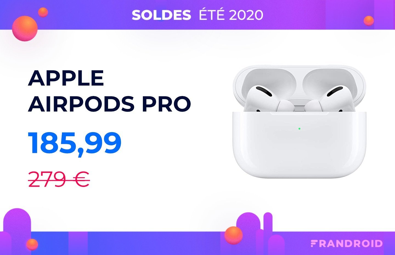 Les AirPods Pro à 185 € pour les soldes… presque même prix que les AirPods 2