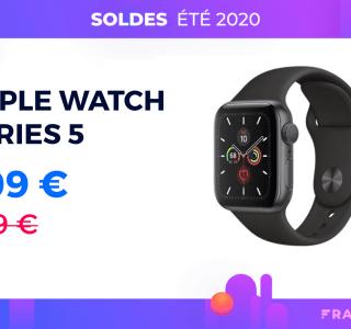 L'Apple Watch Series 5 n'a jamais été aussi abordable que pendant ces soldes d'été