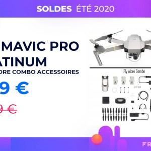 450 euros de réduction sur le drone DJI Mavic Pro et ses accessoires