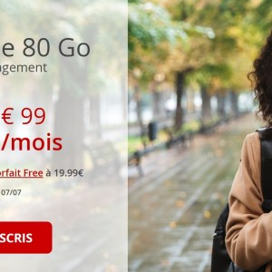 L'opérateur Free surenchérit avec un forfait mobile 80 Go pour un euro de plus
