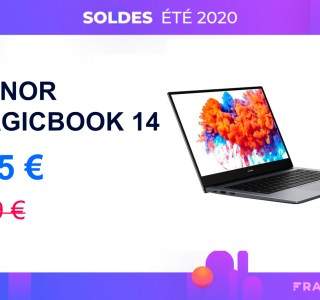 MagicBook 14 : ce laptop chute à 505 € avec un Honor Band 5 offert