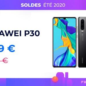 Toujours excellent en 2020, Huawei P30 est à 379 euros avec RED by SFR
