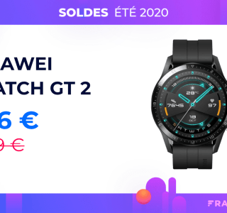 Watch GT 2 : l'excellente montre connectée de Huawei chute à 126 €