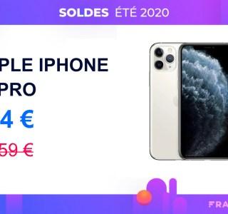 L'iPhone 11 Pro est disponible avec 255 € de réduction pour les soldes