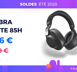 Jabra Elite 85h : ce casque sans fil à réduction de bruit chute à 156 €