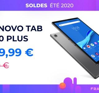 Pour moins de 160 euros, offrez-vous la jolie tablette Lenovo M10 Plus