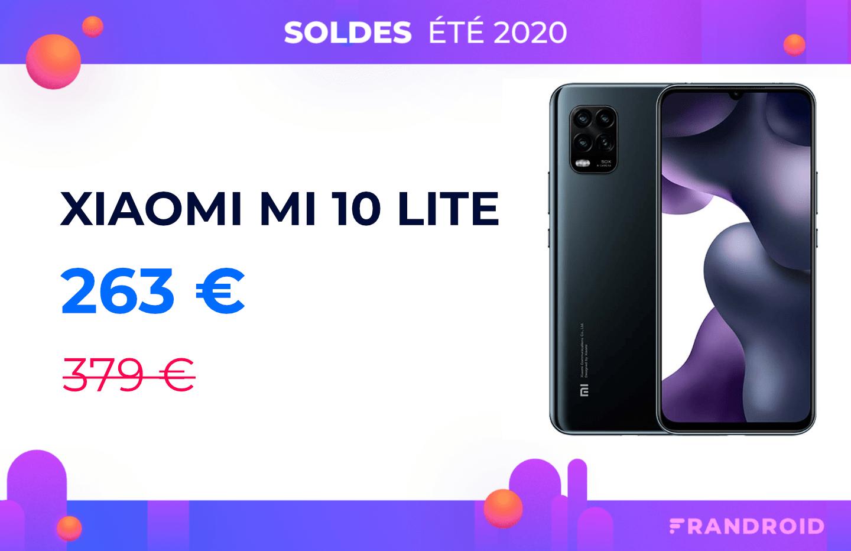 La 5G est à petit prix avec le Xiaomi Mi 10 Lite à 263 €