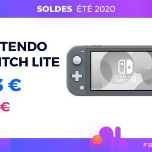 La Nintendo Switch Lite baisse son prix pendant les soldes d'été 2020